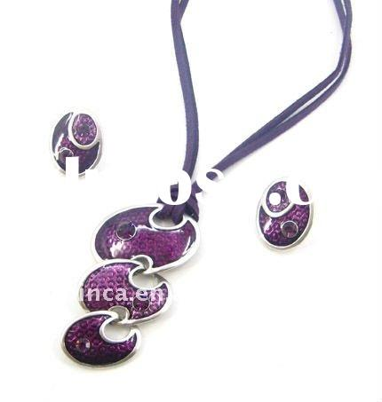 Fashion jewellery set hot style in mixed colors