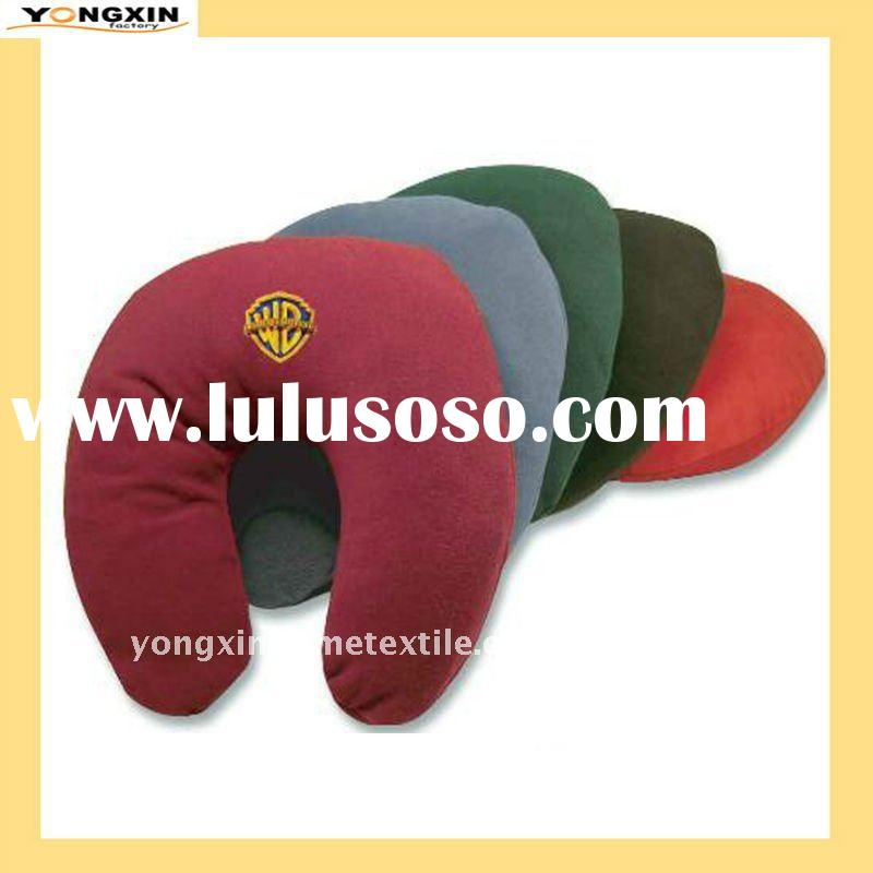 Fleece cover with flap closure for easy care Neck pillow(YXPIL-1110103)