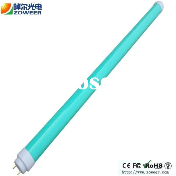 Hot Sale 20W Green Colored Led Tube