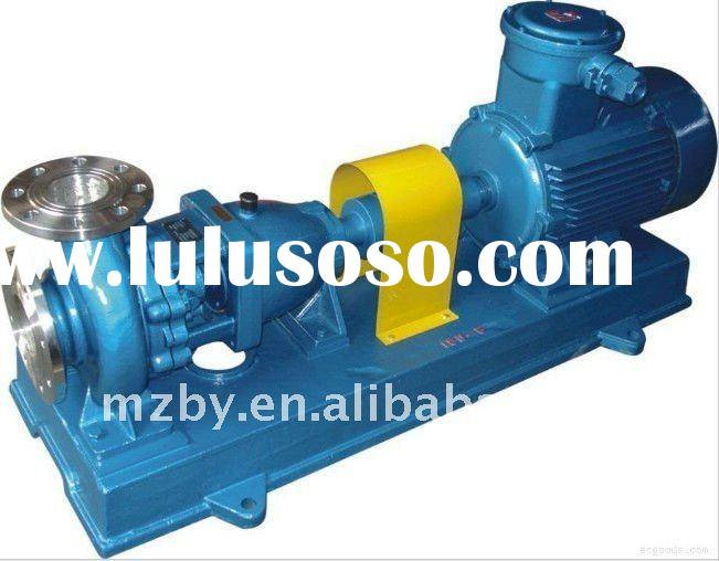 IH series 316SS end suction centrifugal chemical pump model IH100-65-315