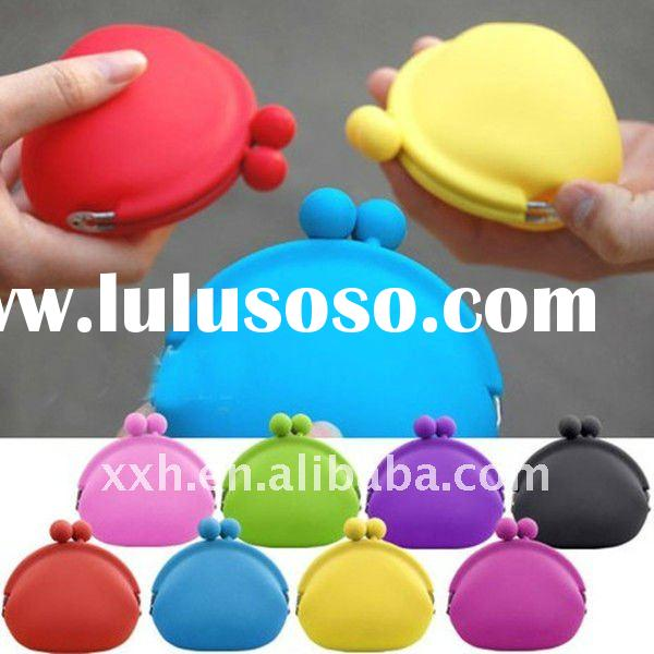 Ladies silicone coin wallet