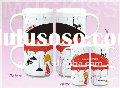 Magic Mugs The Best gift for christmas magic mugs heat transfer printing mugs small order and fast s
