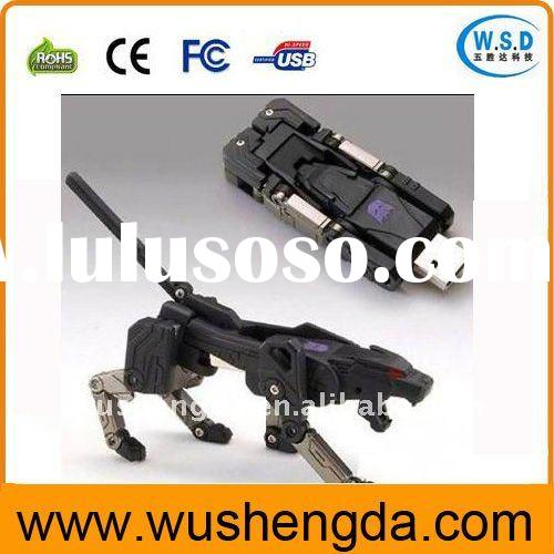 Newest Wholesale Promotional Transformers USB Flash Drive