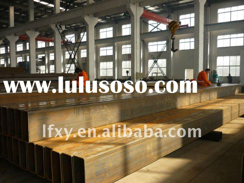 The competitive price Rectangular  hot  dippped  Galvanized  Steel  Pipe