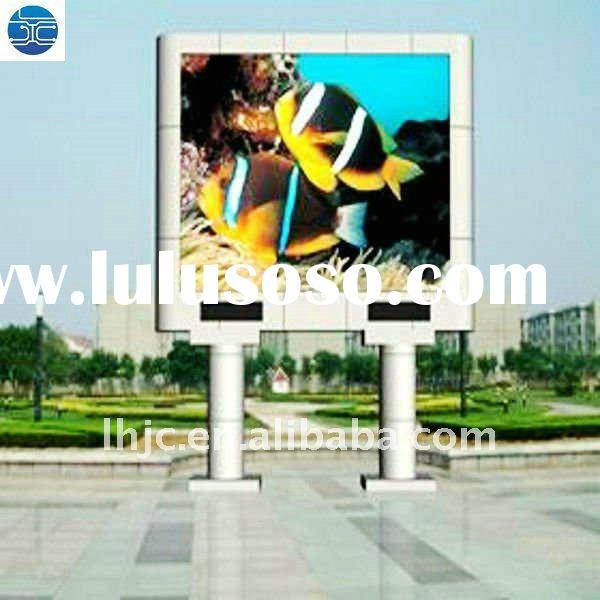 UH  P16 Low Power Consumption Oudoor 1R1G1B Full Color LED Panel of 8000cd/sqm brightness