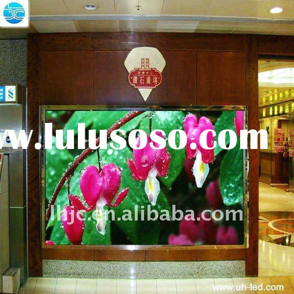 UH Shenzhen P6 vivid image high resolution colorful led screen