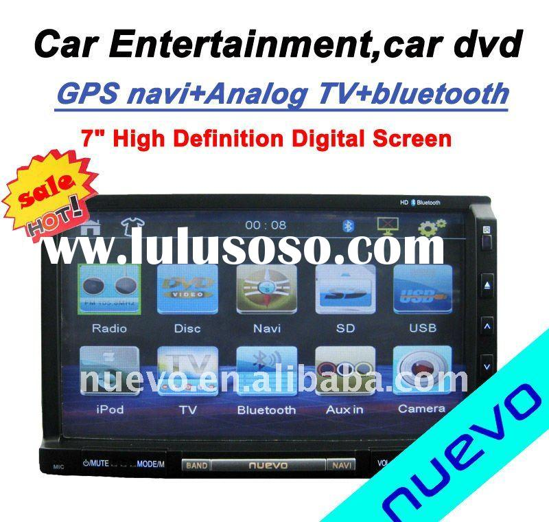 Universal Model:Double Din Car DVD GPS Player