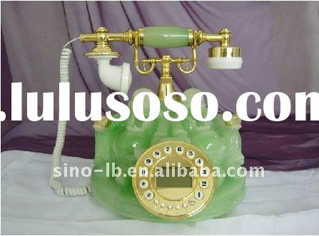 classic jade antique phone,decorative antique phone