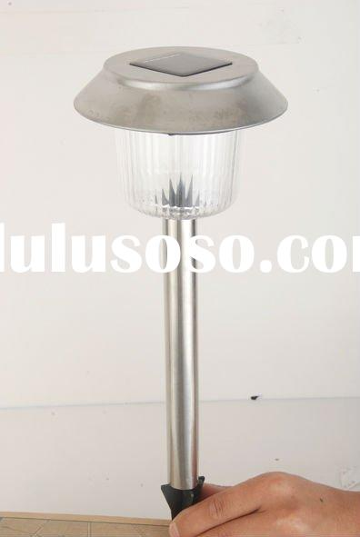 hot sale stainless steel solar lamp