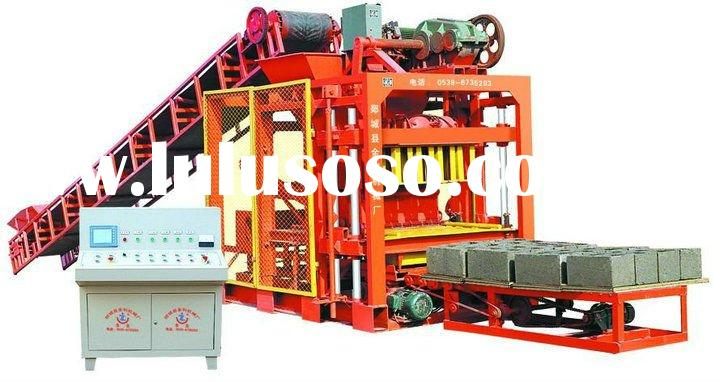 low price automatic concerete brick making machine