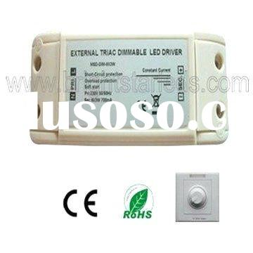 10W 450ma  constant current triac dimmable led driver transformer power supply