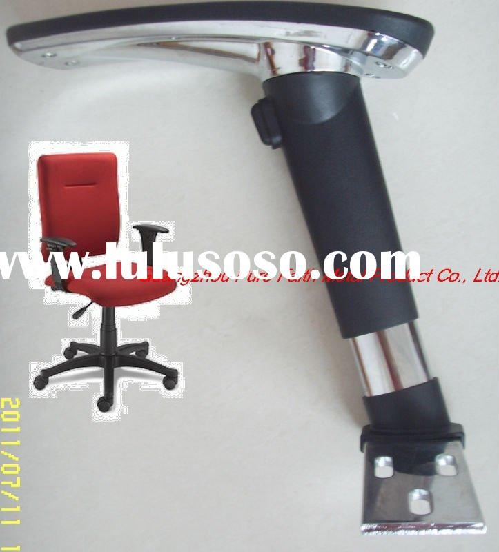 2011 hot sale iron office chair armrests with pu pad (AC17c)