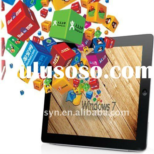 9.7 Inch Windows7 tablet pc 32GB SSD With 3G WIFI HDMI