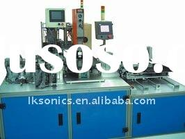 Fully automatic computer controlled ultrasonic welding machine