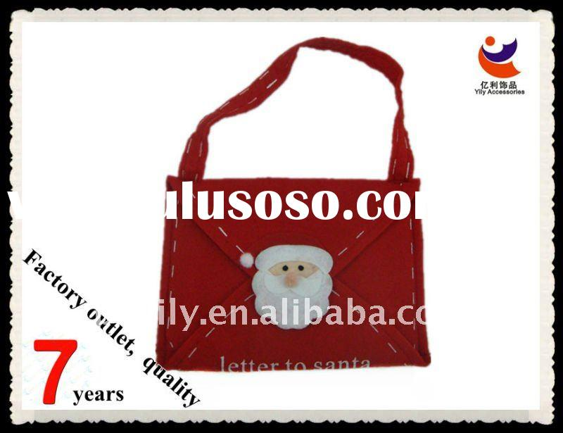 High quality Non-woven Christmas bags with Santa Claus envelope Santa bags