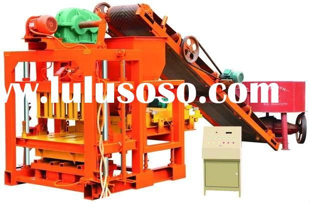 Hot sale  QTJ4-30B semi-automatic brick making machine
