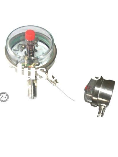 Measurement of gas contact monometers