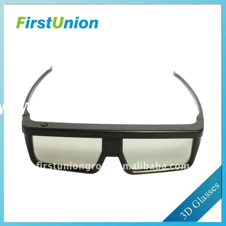 More realistic active shutter 3d video glasses