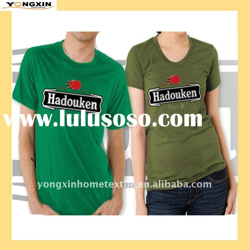 OEM Screen-Printing short sleeve 180gsm cotton tshirt(YXTS-1110118)