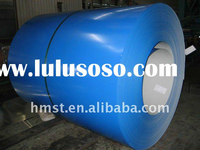 Pre-painted galvanized steel sheet in coil