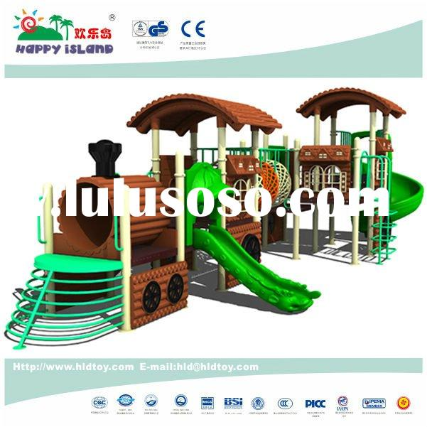 Train series kids outdoor playground