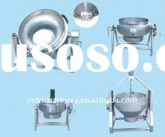 electric jacketed cooking kettle