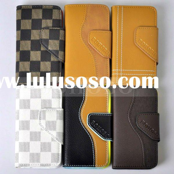 tpu leather case for iphone 4g mobile phone accessories