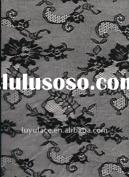 100%cotton jacquard lace fabric 1011