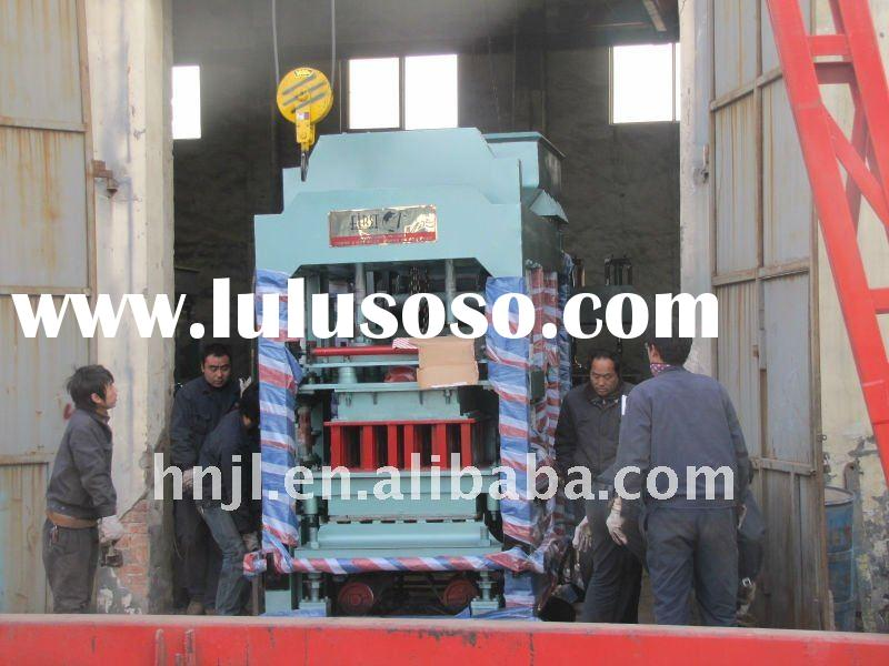 Hot sale automatic concrete brick forming machine