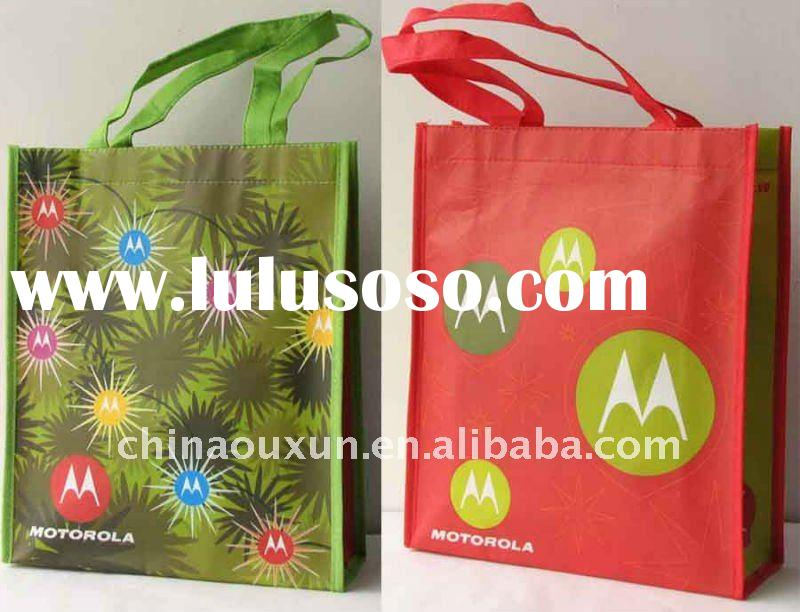 Most fashion promotional pp shopping bag