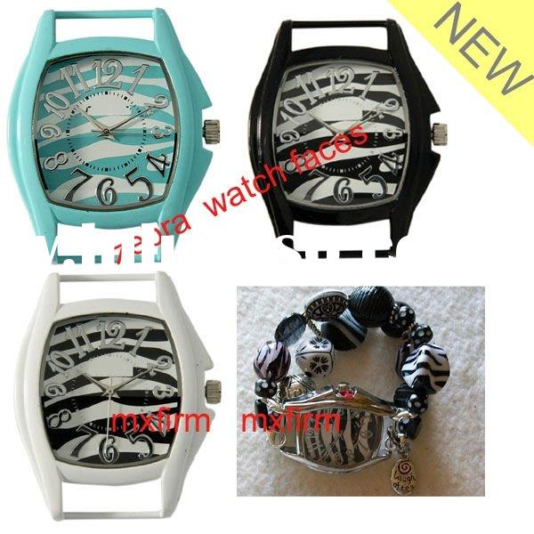 chunky fashion zebra stripe solid bar watch faces direct factory supply