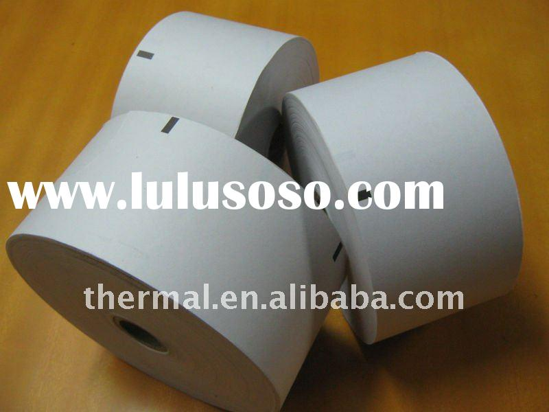 "customized hot sale high quality cash register 3 1/8""width  thermal paper with printing"