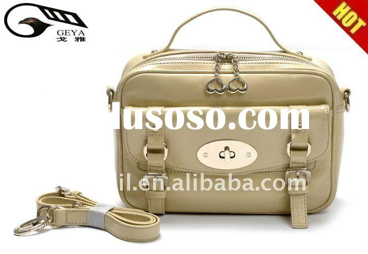 2012 New arrival! !HOT SALES stylish Ladies genuine leather handbags in the factory price