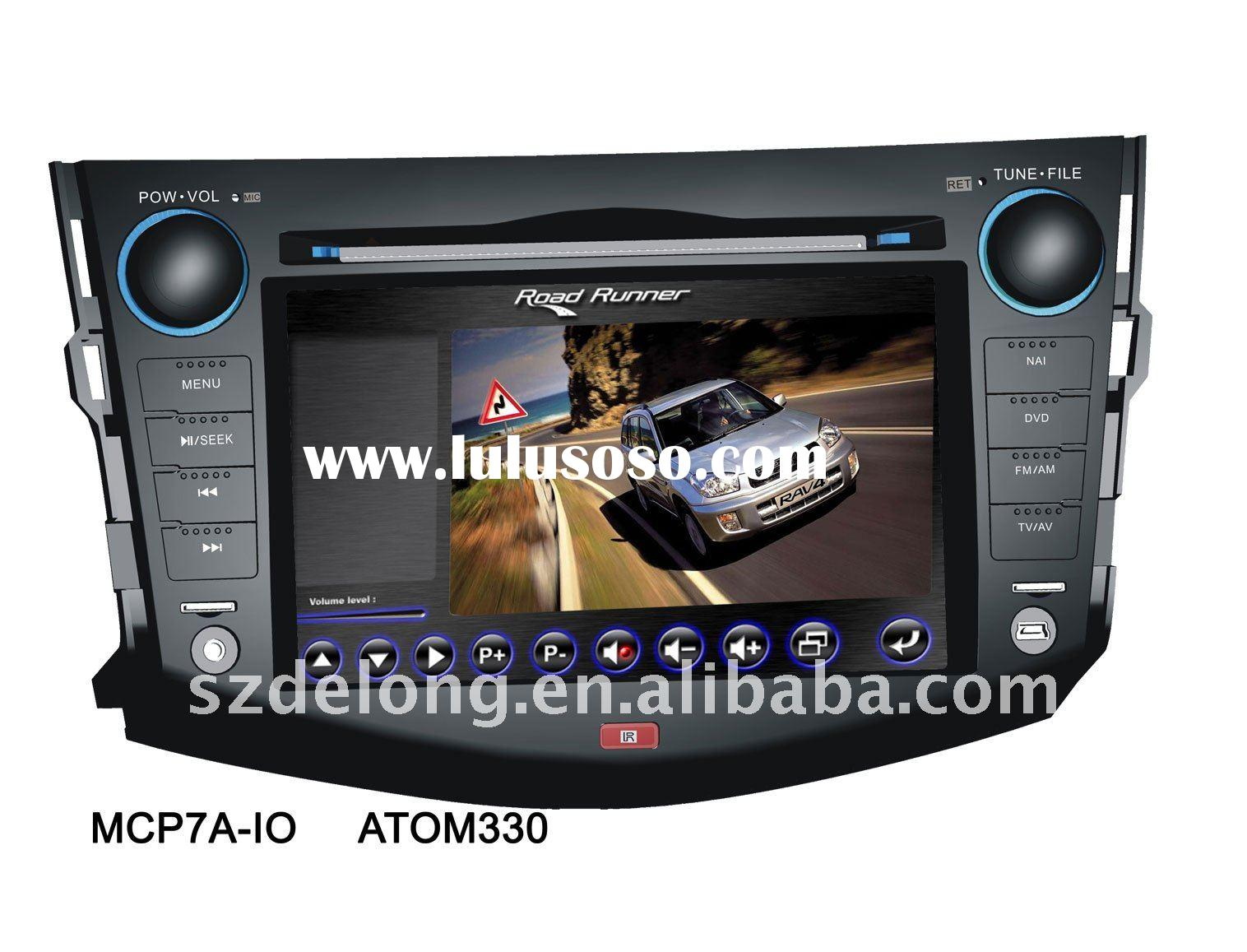 7 inch car DVD player with GPS for RAV4