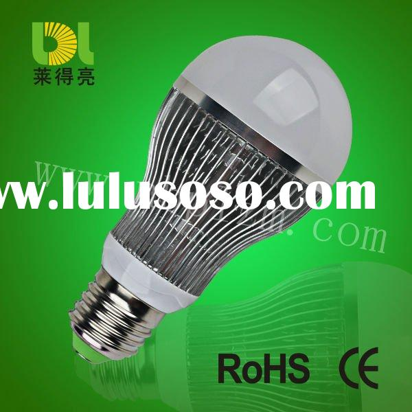 NEW FIN mode SMD led bulb 7W  with high lumen AC100-240V