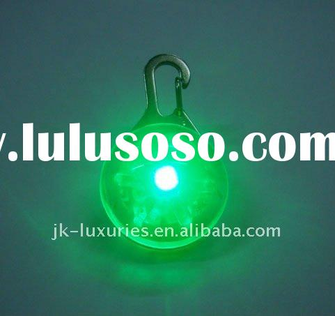 Pet product-Round LED safety pet tag