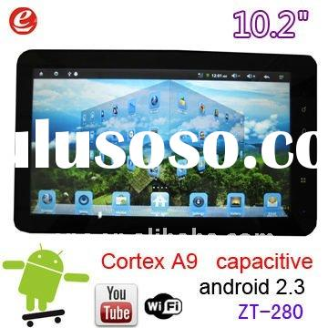 Zenithink C91 ZT-280 Android 2.3 Capacitive Touchscreen Tablet PC / AMLogic Cortex A9 512MB 8GB