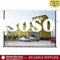 (4:3)High Quality MOTORIZED  water-resistant PROJECTOR SCREEN