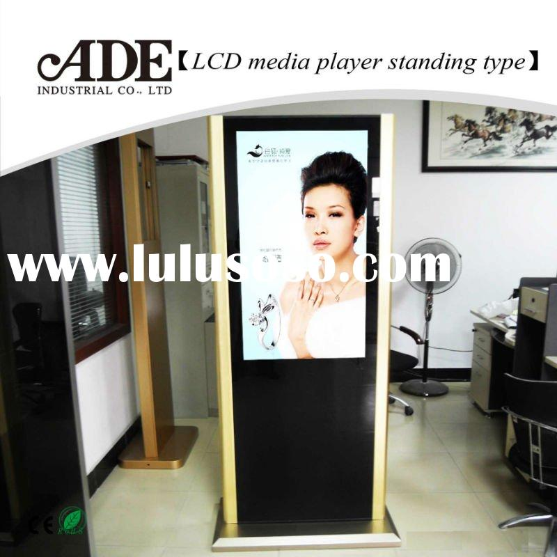 floor standing advertising player