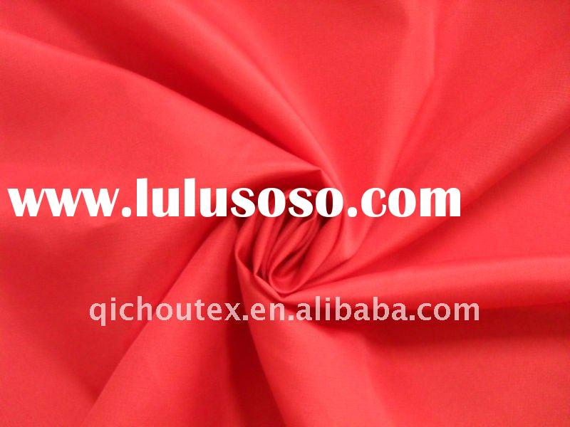100% polyester check pongee fabric