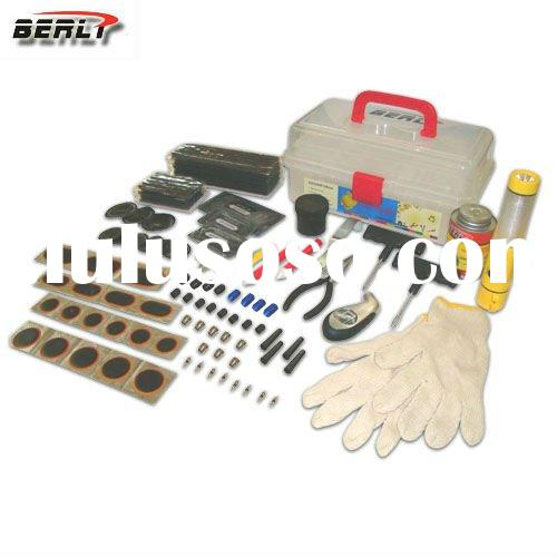 2011 New Tire Repair kit, Tire repair tool kit , Easy Carry Hand Tool Box.