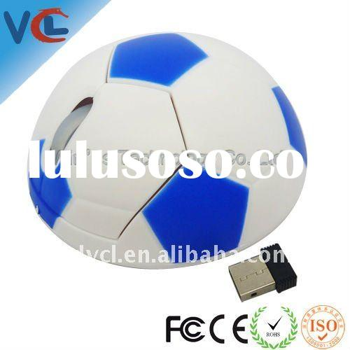 2.4G wireless football mouse