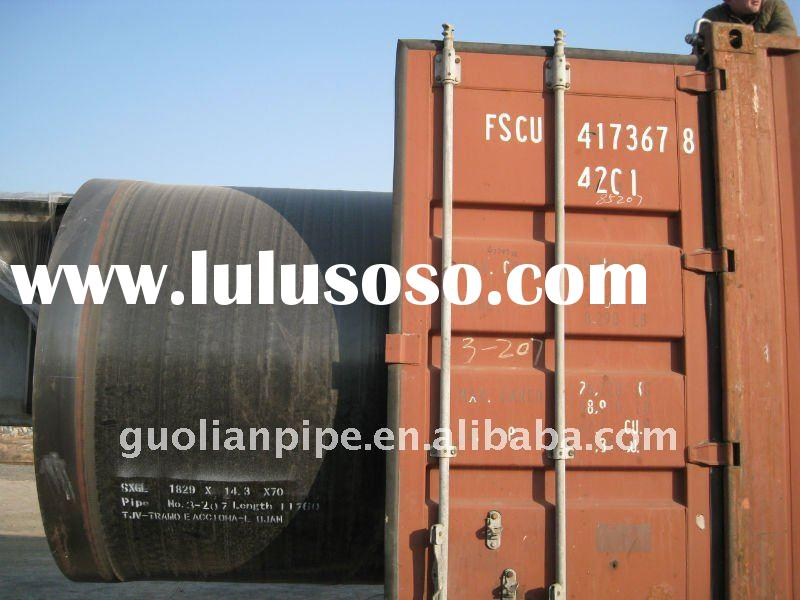 Bell and pigot end steel pipe
