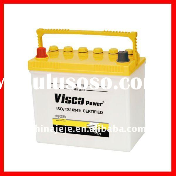 Chinese Professionally Manufacturing High Quality Lead Acid Dry Charged Car Battery  32C24R  12V40AH