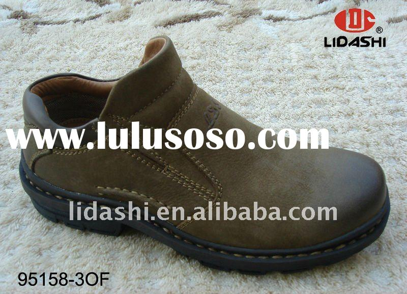 Comfortable Removable Insole Leather China Shoe