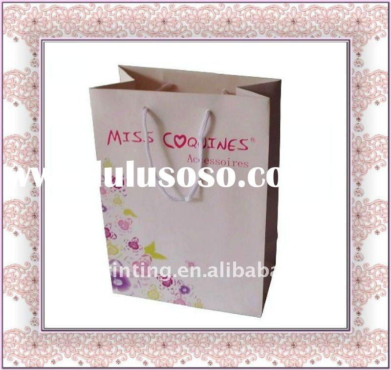 Hot Sall Eco-friendly Paper Shopping Bag