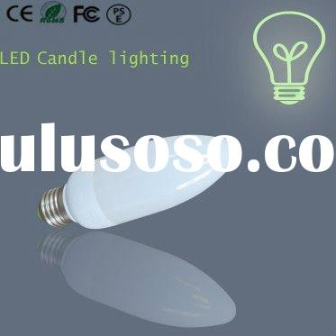 cheap 4W led candle lighting with high lumen
