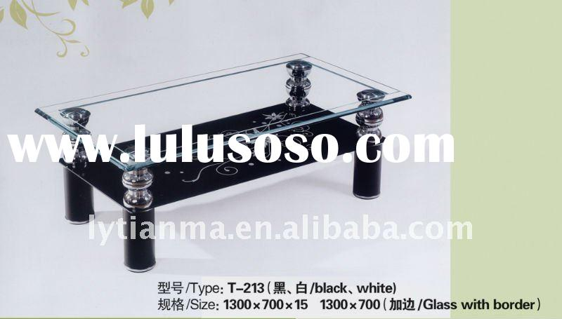 fashion style glass table