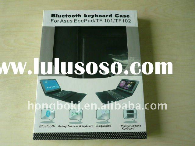 leather case combined bluetooth keyboard for Asus Eeepad