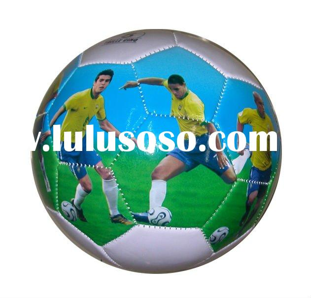 printing sporting figures pvc size  5 football